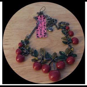 🆕🎄Fashion Red Cherry Pendant